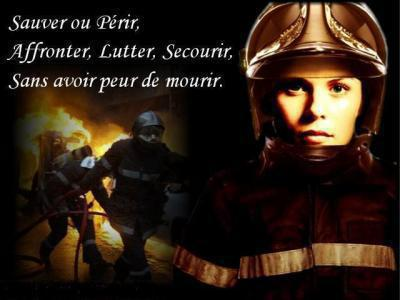 Pompier Au Feu Pompier De France